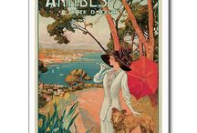 Old Postcards of the Cote d'Azur