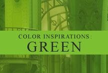 Color Inspiration: Green