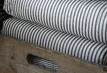 Ticking Stripe Fabric and French Mattress