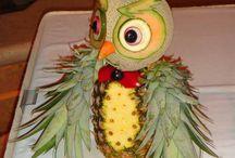 fruit garnish