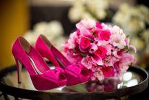 Zapatos color del ramo