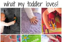 Toddler Activities / Activities for toddlers aged 18 months to 3 years old.