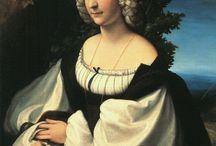 женский портрет поясной (female portrait) 2