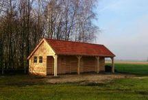 Houten Schuren / Een houten schuur of kapschuur is geheel onderhoudsvrij uit te voeren en wordt voor u op maat gemaakt. Bij Vekam Houtbouw zijn de mogelijkheden eindeloos!