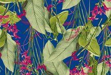 plant prints / jungels plants green
