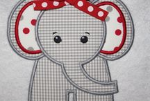 Babies and Children Machine Embroidery / by Quilty Grama