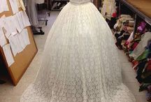 The TARA Ballgown Weddingdress / by The Cotton Bride