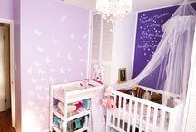 Girls Nursery / I had so much fun doing my baby girls nursery