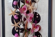 My handmade decor home and leather brooches / Мои работы