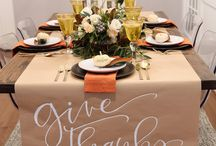 Thanksgiving Decor and Crafts