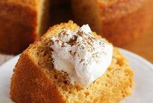 Angel and chiffon cakes