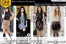 Celebrity Fashion / See what the celebrities are wearing.