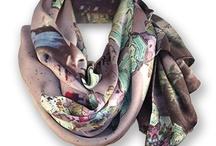 Carla Cederlund Couture Scarves & Shawls / Contemporary silk scarves