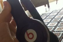 Do you like my beats??? / Purple beats, bought in Hong Kong, China.