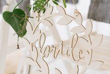 Natural Wedding Moodboard