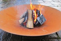 Patio and Garden Fire Pits / The outdoor fire pits are great for warming log fires or for burning dry garden waste that cannot be composted or recycled.