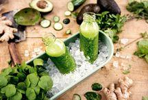 Grüne Drinks
