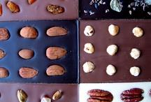 Organic hand-made chocolate bars