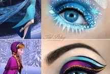 Funny makeup / Beauty, crazy, cool and cute makeup