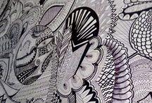 zentangle wall art!