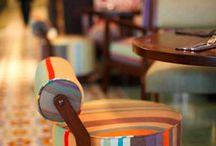 Wild Honey- Singapore / Warisan's furniture custom work @ Wild Honey