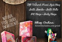Seven Sins Salon Products