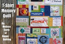 T-Shirt & Memory Quilts / by Michelle Naugle
