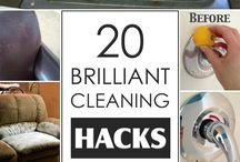 Cleaning Hacks / They say a clean home is a happy home. Follow these simple home cleaning tips that can help you keep your home clean and tidy easily and quickly.