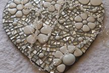 Corazón mosaico