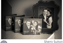 Custom DVDs for Weddings / Check out these cool custom DVDs designed by Sherry Sutton Photography.