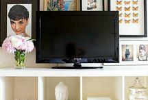 TV Stand Decoration