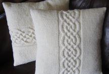 패턴 쿠션