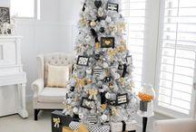 White tree ideas