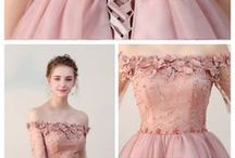 pretty in pink / Beautiful pink dresses