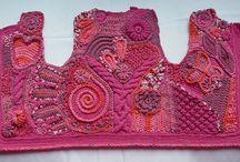 Freeform knitting/crochet