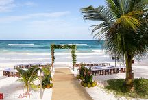 Real Tulum Wedding: Andrea and Andrew at Ziggy Beach
