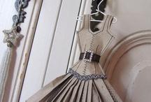Paper dress crafts