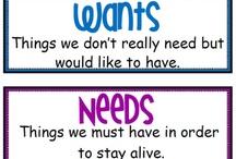 Wants Needs