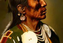 Crow native american / vraní indiáni