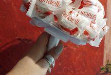 bukiety z raffaello / moje dzieło z raffaello