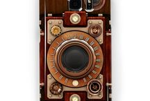 Steampunk Samsung Galaxy Cases S3 to S9 / Steampunk style cases for Samsung Galaxy from S3 to S9. Also available for iPhones.