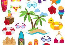 Art & Doodles - Beach