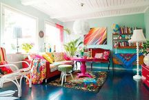 Home Decor! / Jackie Brazil Style Inspired Home Decor - all bright colours and prints we would love to see in everyones homes!