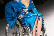 Women on Wheels / Beautiful young women on wheels  Inspiration / Fashion / Beauty / Models What to wear in a chair.  #beautyonwheels