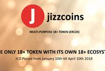 Jizzcoins (JCN) / Multi-purpose 18+ utility token (ERC20) with focus on webcam & voyeur niche. Participate in ICO (Initial Coin Offering)  jizzcoins.com