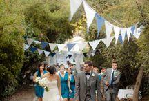 Hochzeit: Wimpelkette