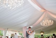 OUTDOOR WEDDINGS: DESIGNED BY EBD / Outdoor tented weddings