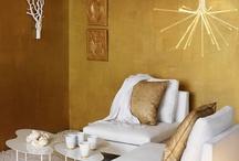 Goud in het interieur