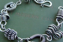 wire earrings / Varie tecniche