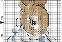 Beatrix Potter cross stitch